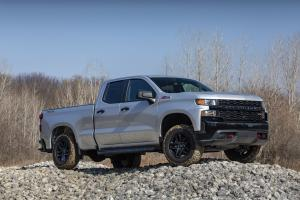 2019 Chevrolet Silverado Custom Z71 Trail Boss Crew Cab