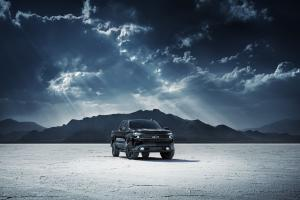 Chevrolet Silverado LT Z71 TrailBoss Midnight Edition Crew Cab 2019 года
