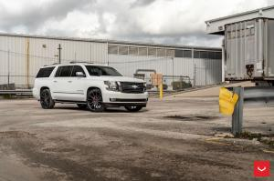 Chevrolet Suburban LTZ on Vossen Wheels (HF6-1) 2019 года