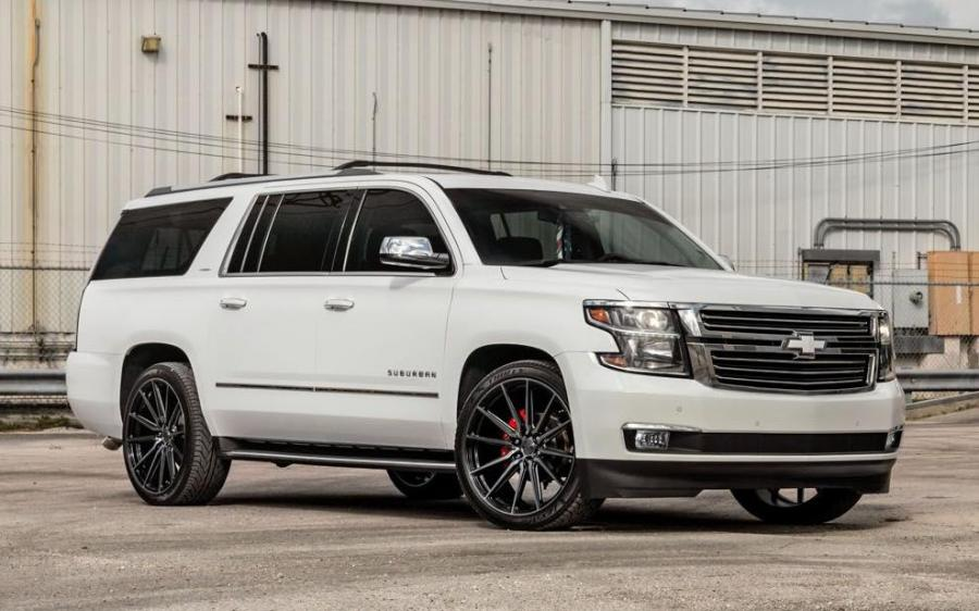 2019 Chevrolet Suburban LTZ on Vossen Wheels (HF6-1)