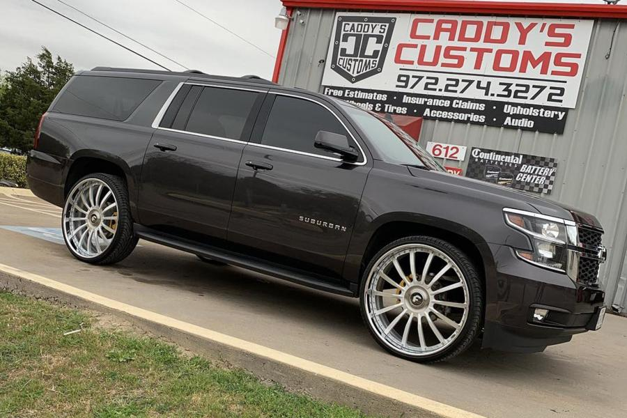 2019 Chevrolet Suburban on Forgiato Wheels (Piatto)