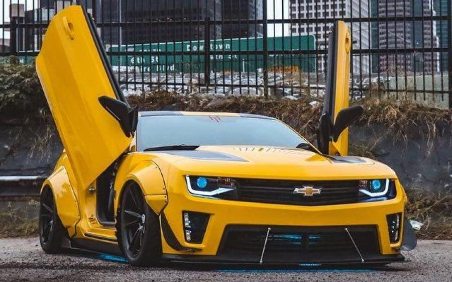 Chevrolet Camaro Bumblebee Witwicky by JDM Special on HRE Wheels '2020