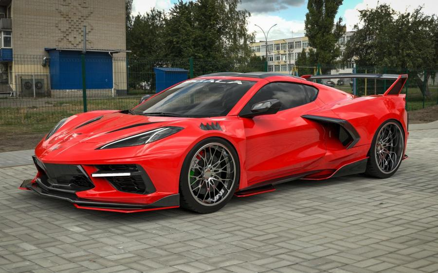 Chevrolet Corvette Stingray C8RR by Sigala Designs (C8) '2020