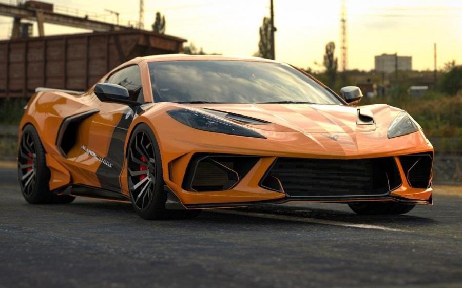 Chevrolet Corvette Stingray Centurion by Alandi Motors (C8) '2020