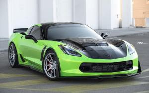 Chevrolet Corvette Z06 by MOD Bargains on ADV.1 Wheels (ADV5.0 FLOWSPEC) 2020 года