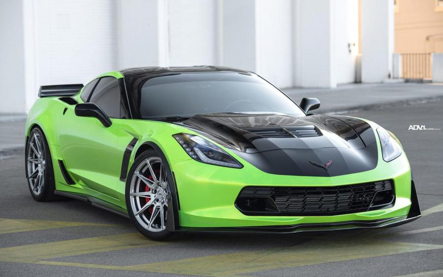 Chevrolet Corvette Z06 by MOD Bargains on ADV.1 Wheels (ADV5.0 FLOWSPEC) (C7) '2020