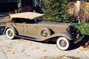 1933 Chrysler CL Imperial Dual Cowl Phaeton by LeBaron