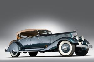 Chrysler Custom Imperial Dual Cowl Phaeton by LeBaron 1933 года