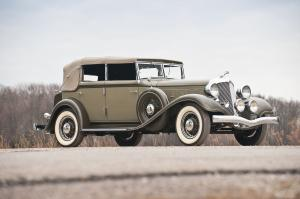 1933 Chrysler Imperial CQ Convertible Sedan