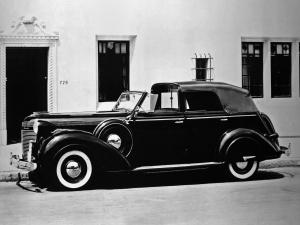 Chrysler Imperial 4-Door Convertible Formal Town Car by Derham 1937 года