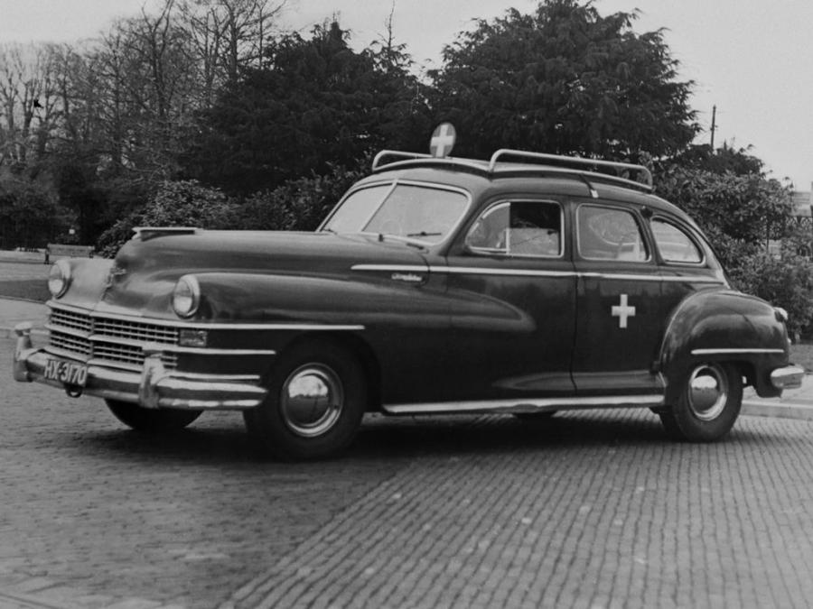 Chrysler Windsor 4-Door Sedan Ambulance
