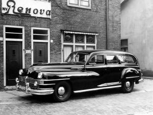 Chrysler Windsor Funeral Car by Renova 1946 года