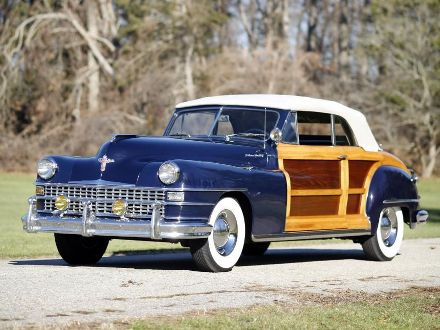 Chrysler New Yorker Convertible Coupe Town & Country