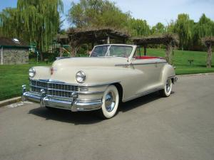 Chrysler New Yorker Convertible 1947 года