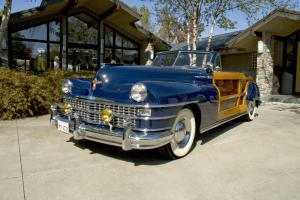 1947 Chrysler Town & Country New Yorker Convertible