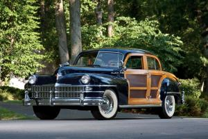 Chrysler Town & Country Sedan Black 1948 года