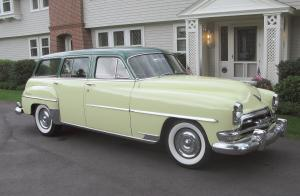 Chrysler New Yorker Town & Country Wagon 1954 года