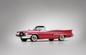 Chrysler 300F Convertible Red 1960 года