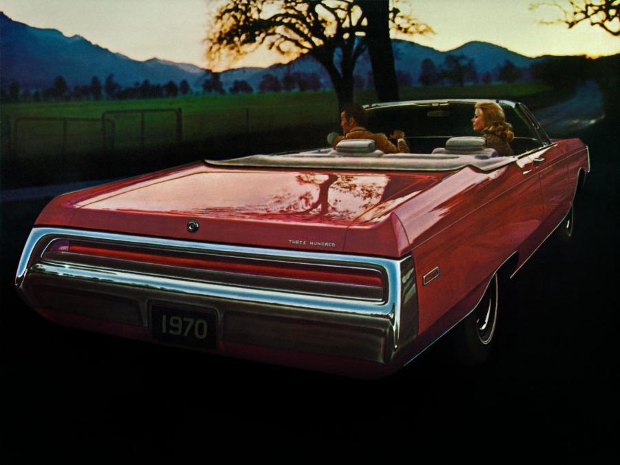Chrysler 300 Convertible '1970