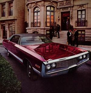 Chrysler New Yorker Hardtop Sedan 1970 года