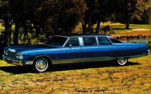 Chrysler New Yorker Limousine by Armbruster-Stageway 1974 года
