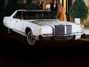 Chrysler New Yorker Brougham 4-Door Hardtop 1977 года