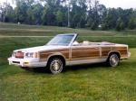 Chrysler LeBaron Town & Country Convertible 1983 года