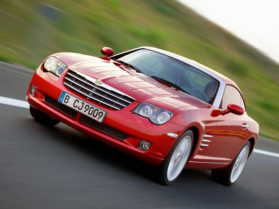 2003 Chrysler Crossfire Limited Coupe (EU)