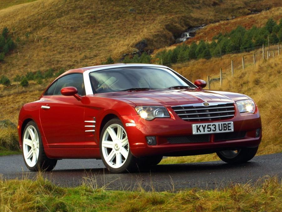 2003 Chrysler Crossfire Limited Coupe (UK)