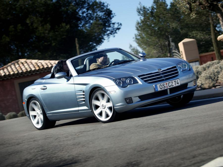 2004 Chrysler Crossfire Limited Roadster (EU)