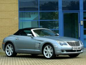 Chrysler Crossfire Roadster 2005 года (UK)