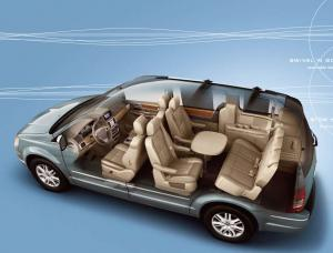 2008 Chrysler Town & Country Wins Ward Interior