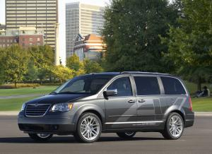 2009 Chrysler Town & Country EV Concept