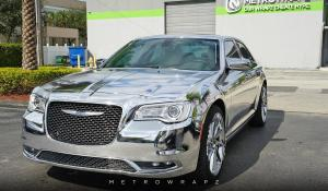 Chrysler 300C Avery Chrome by MetroWrapz '2016