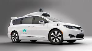 Chrysler Pacifica Hybrid Waymo Self-driving Vehicle 2017 года