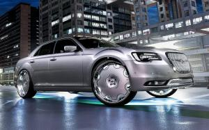 Chrysler 300C on Forgiato Wheels (Fiore) 2018 года