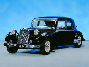 Citroen Traction Avant 1934 года
