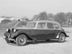 Citroen Traction Avant Familiale Taxi 1954 года