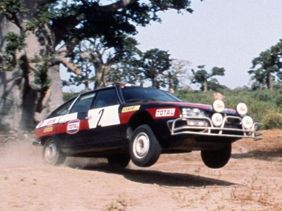 Citroen CX 2400 GTi Rally Car