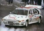 Citroen BX 4TC Rally 1985 года