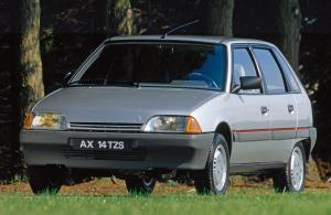 1988 Citroen AX 14 TZS 5-Door