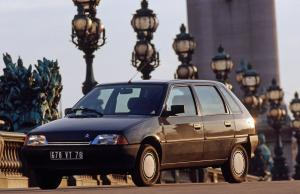 1989 Citroen AX Image 5-Door