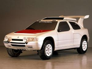 Citroen ZX Rally Raid Prototype 1990 года