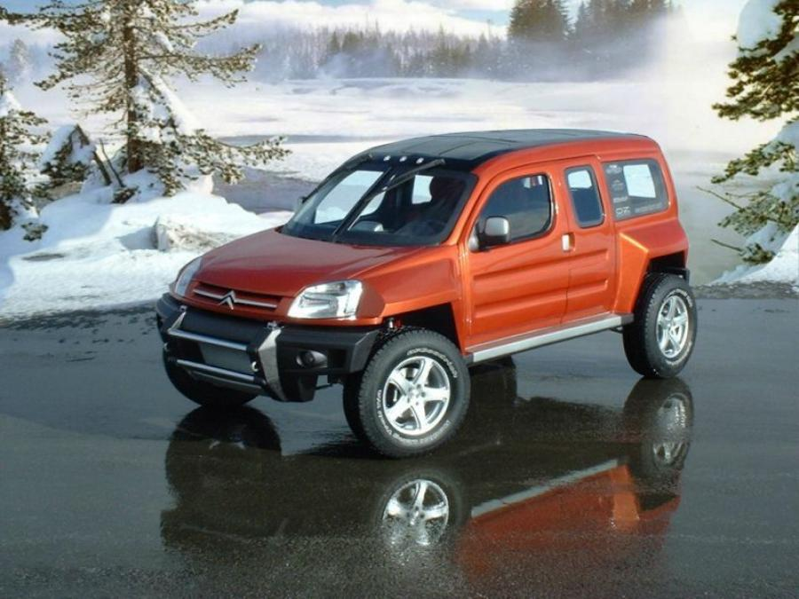 Citroen Berlingo Bourlingueur Concept by Sbarro