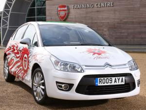 2009 Citroen C4 Ultimate Arsenal Fans Car