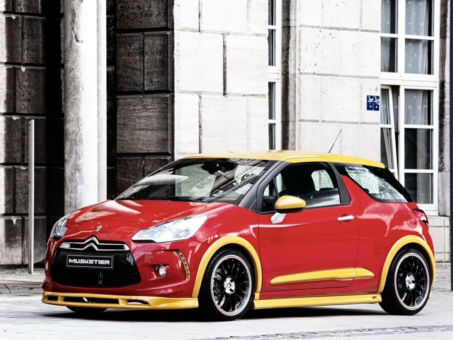 Citroen DS3 by Musketier