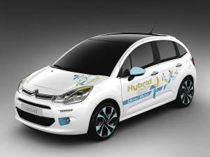 2013 Citroen C3 Hybrid Air Prototype