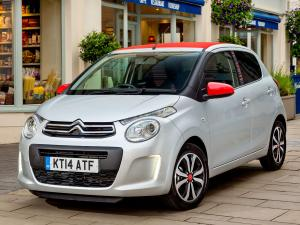 Citroen C1 Airscape 5-Door 2014 года (UK)