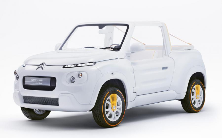 Citroen E-Mehari Styled by Courreges '2016
