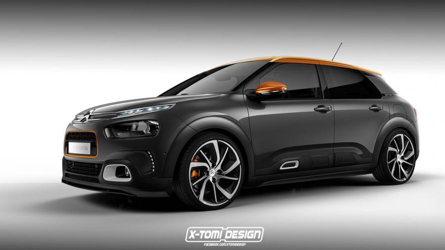 Citroen C4 Cactus Racing by X-Tomi Design '2017